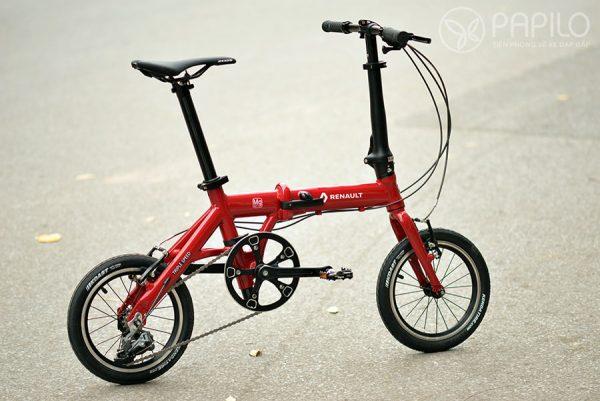 Xe đạp gấp Renault - Magnesium Ultra light 7