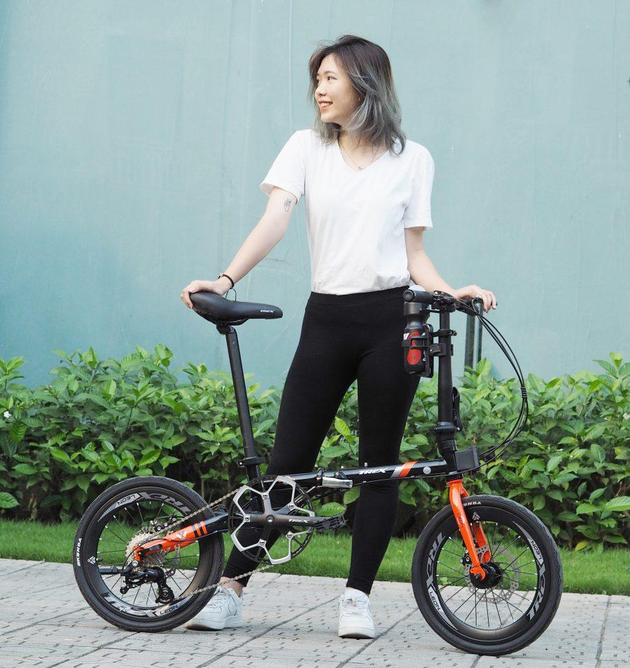 Xe đạp gấp Trex Leon – ấn tượng với tốc độ nhanh vun vút