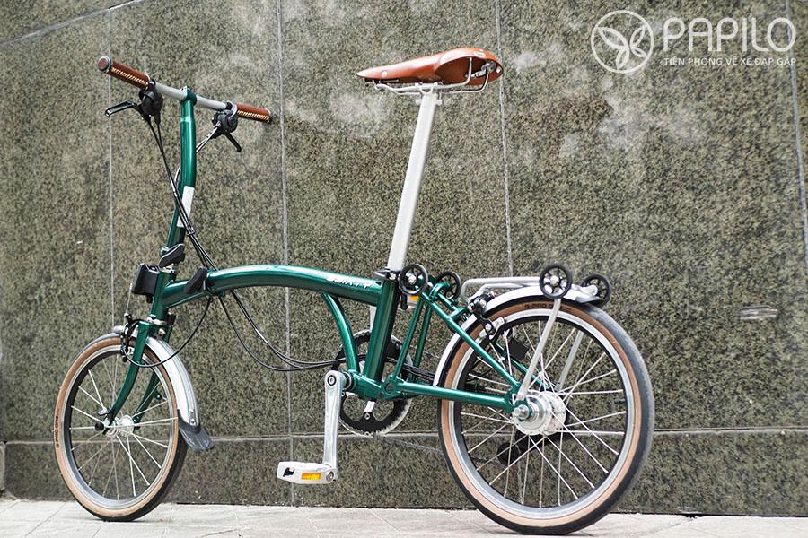 Xe đạp gấp Hàn Quốc – 3Sixty M6 (2021)