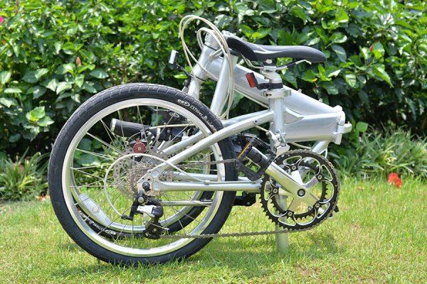 Xe đạp gấp JIACH – K8 (Cảm giác thể thao)