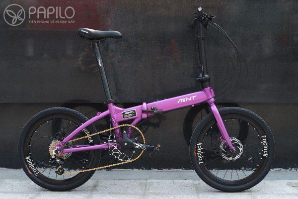 Xe đạp gấp MINT T9 – Anode