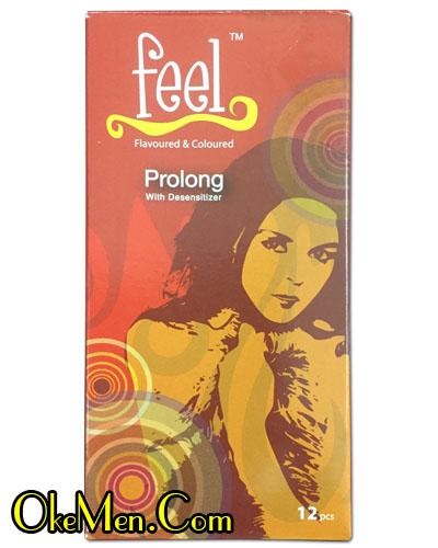 Bao cao su Feel Prolong - siêu mỏng trơn và chống xuất tinh sớm cho nam