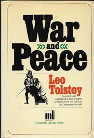 War and Peace (Modern Library Giants) Hardcover – January 1, 1931