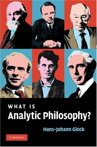What Is Analytic Philosophy? Hans-Johann Glock