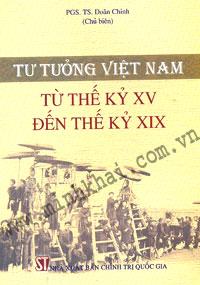 tư tưởng Việt Nam từ thế kỷ XV đến thế kỷ XIX