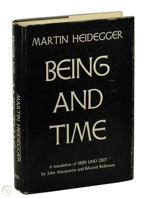 Heidegger, Being and Time, Hiện tượng học, Triết học hiện sinh, Hữu thể và thời gian