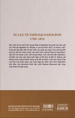 Lịch Sử Văn Minh Thế Giới Âu Lục Và Thời Đại Napoleon