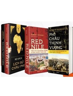 """Bộ Sách """"Lịch Sử Châu Phi"""": Phi Châu Thịnh Vượng: Lịch sử 5000 năm của sự giàu có, tham vọng và nỗ lực - Red Nile: Tiểu Sử Của Dòng Sông Vĩ Đại Nhất Thế Giới"""