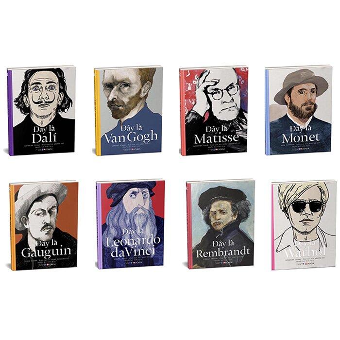 Bộ sách Danh họa Nghệ thuật (8 cuốn)