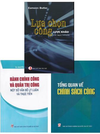 Combo Chính Sách Công - Lựa Chọn Công - Hành Chính Công Và Quản Trị Công
