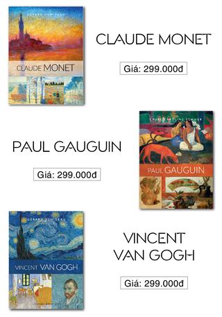 Bộ Danh Họa Nghệ Thuật: Vincent Van Gogh, Claude Monet, Paul Gauguin