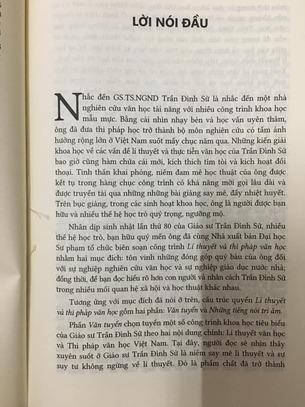 Lí thuyết và Thi pháp văn học - Trần Đình Sử