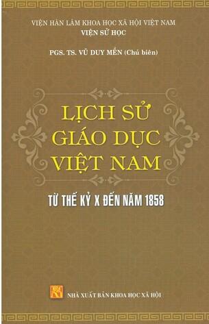 Bộ sách Lịch Sử Giáo Dục Miền Bắc Việt Nam