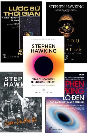 Combo trọn bộ 5 cuốn Lược sử thời gian Stephen Hawking