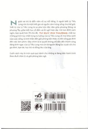 Tư Duy Phi Thường: Minh Triết Cho Đời Sống Thường Nhật - Lý Tiểu Long