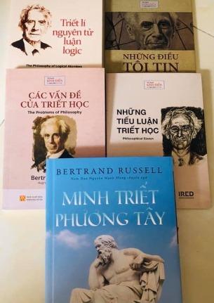 Combo 5c Bertrand Russell: Minh triết phương Tây, Các vấn đề triết học, Những Tiểu luận triết học, Những điều tôi tin, Triết lí nguyên tử luận logic