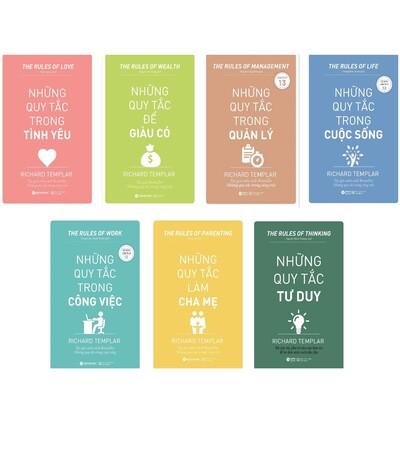 Bộ Sách Những Quy Tắc Trong Công Việc, Trong Tình Yêu, Để Giàu Có, Làm Cha Mẹ, Trong Cuộc Sống, Trong Quản Lý, Trong Tư Duy