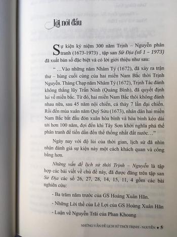 Những Vấn Đề Lịch Sử Thời Trịnh - Nguyễn