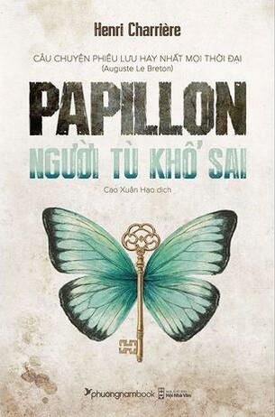 Papillon Người Tù Khổ Sai tái bản 2021 Henri Charrière