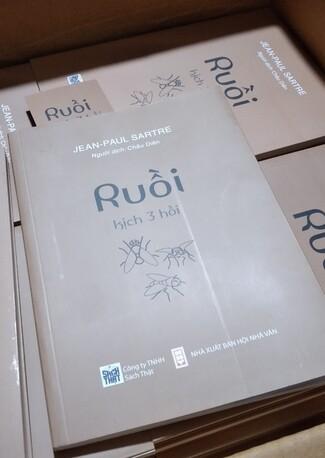 Ruồi Jean Paul Sartre; Kịch Ba Hồi
