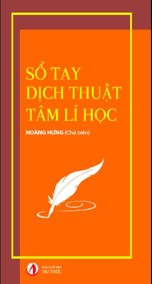 Sổ tay dịch thuật tâm lí học Hoàng Hưng