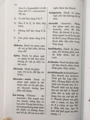 Từ điển và Danh từ triết học Trần Văn Hiến Minh