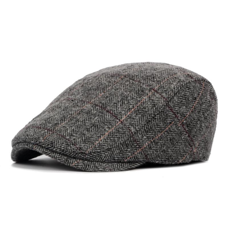 Mũ beret nam trung niên vải dạ M104