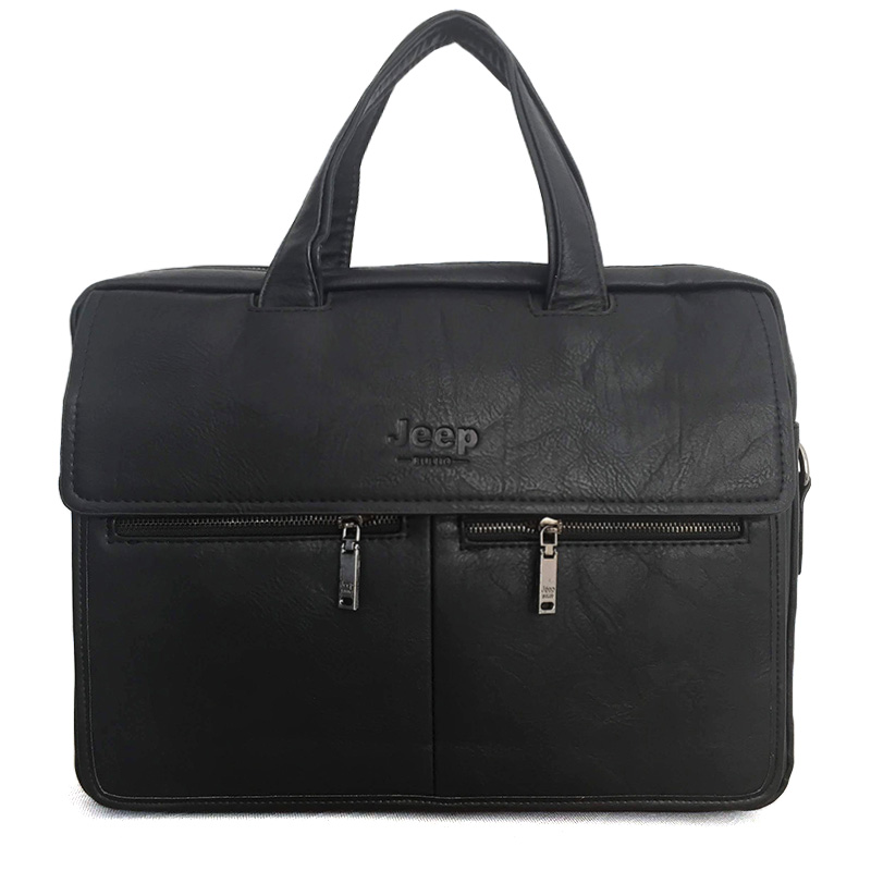 Túi laptop size to, túi xách nam chất liệu da TA003