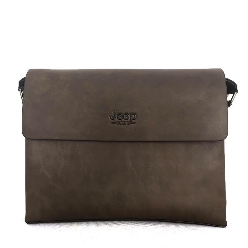 Túi laptop size nhỏ, túi đeo chéo nam chất liệu da TA005