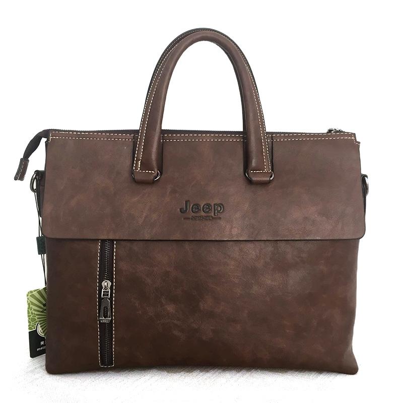 Túi laptop size to, túi xách nam chất liệu da TA001