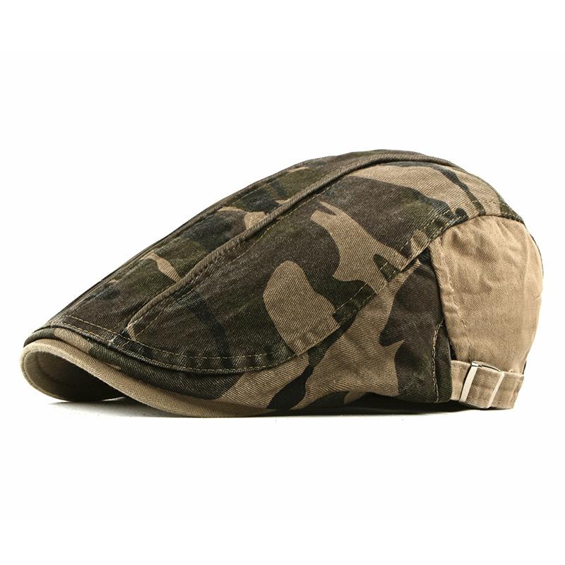 Mũ beret nam trung niên vải dù M102