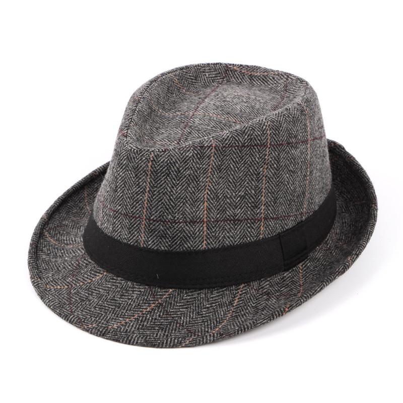 Mũ phớt nam trung niên vải dạ M301