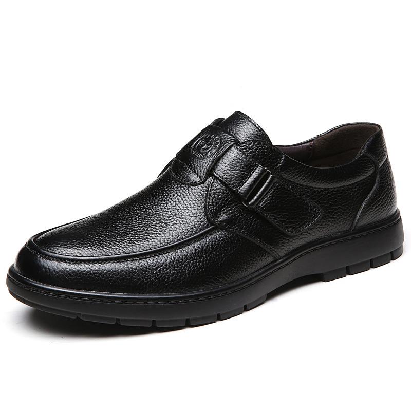 Giày da thời trang nam trung niên - Mã GC002