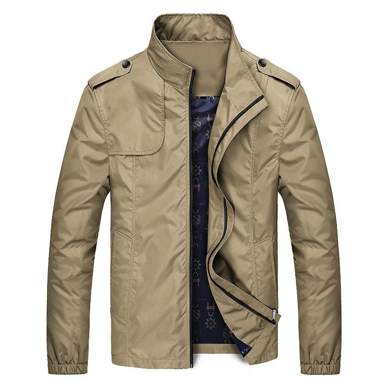 Áo khoác gió nam trung niên 2 lớp chống nhăn AG06