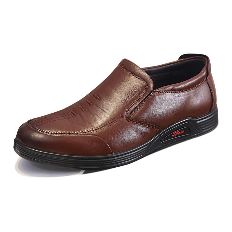 Giày lười nam trung niên da thật - Mã DC003