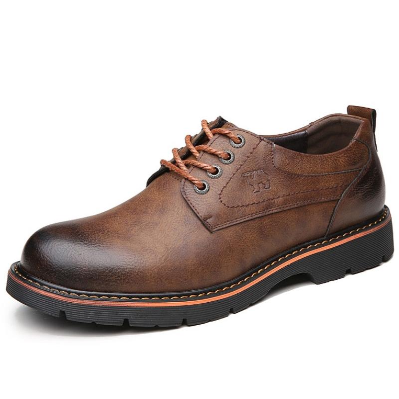 Giày doctor nam trung niên da bò - Mã CM002