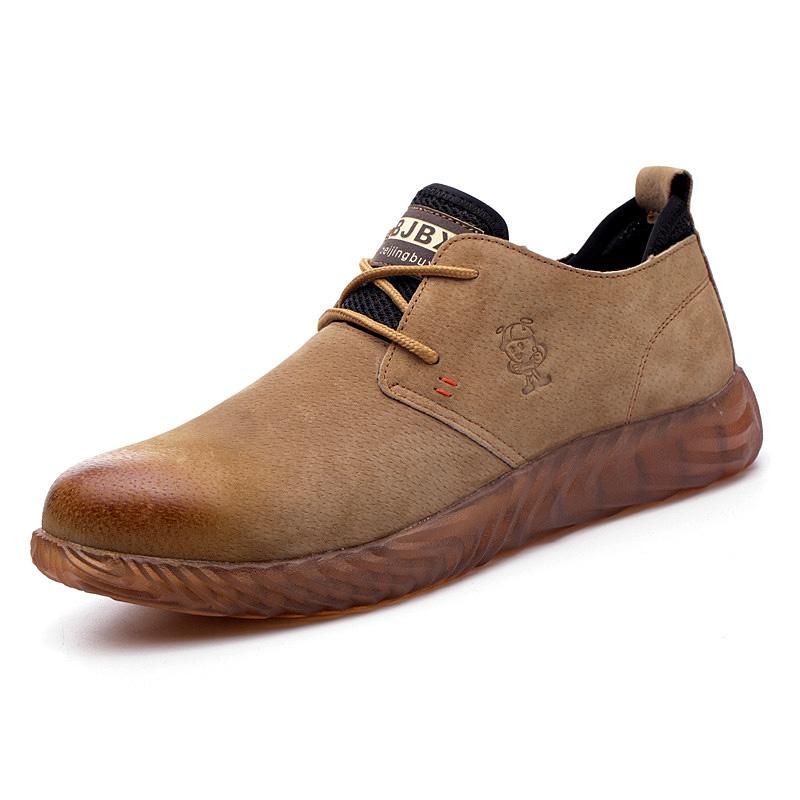Giày nam da bò siêu bền SB02