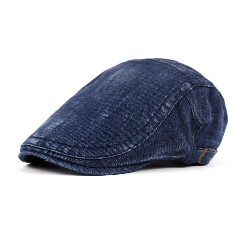 Mũ beret nam trung niên vải bò M101
