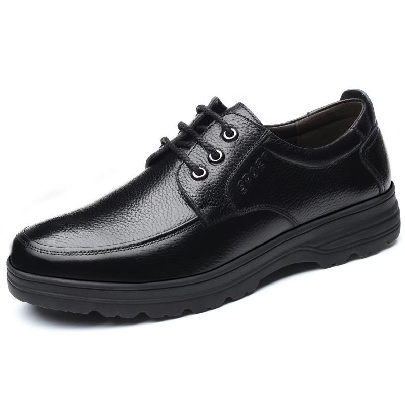 Giày nam buộc dây da bò bền đẹp GB002