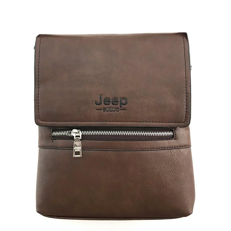 Túi iPad, túi đeo chéo nam chất liệu da TA007 - Nâu nhạt
