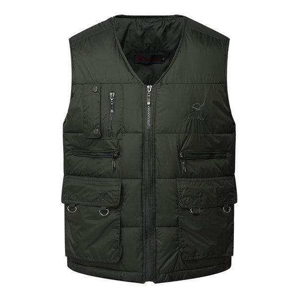 Áo khoác trung niên dáng trấn thủ lót bông CT05