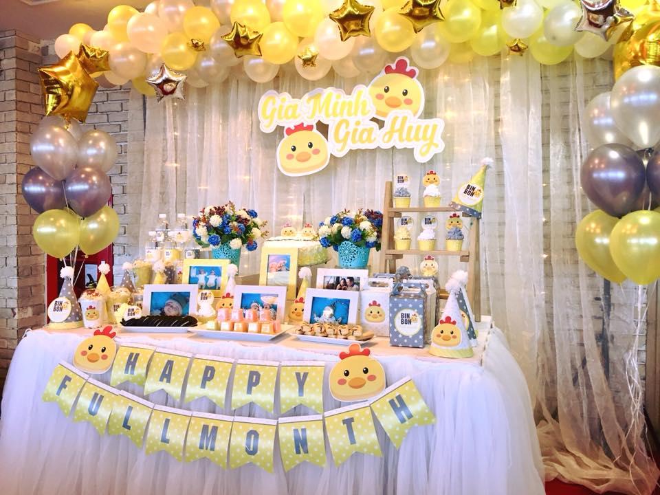 Image result for Cách trang trí sinh nhật cho các bé