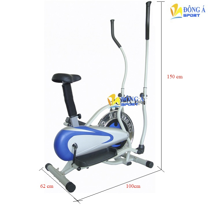 Xe đạp tập thể dục Obitrack 2082B có yên