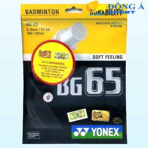 Dây đan vợt cầu lông Yonex BG 65 Ti