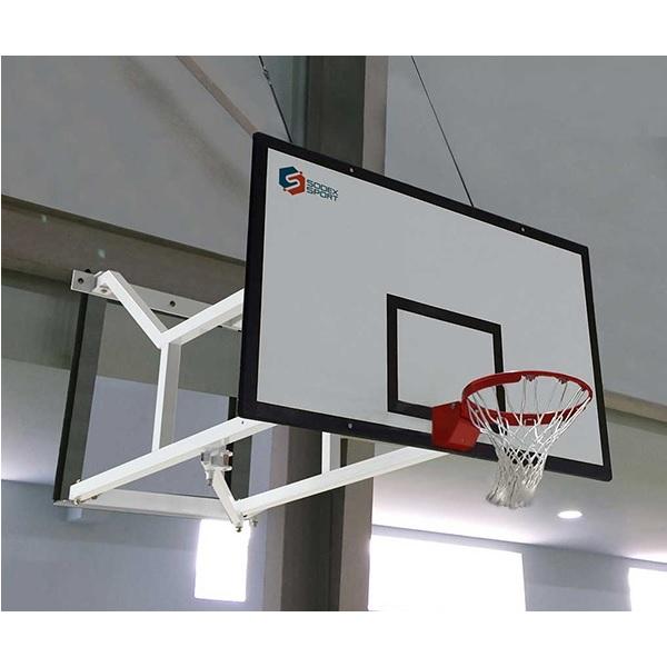 Bảng bóng rổ treo tường xếp gập S14185