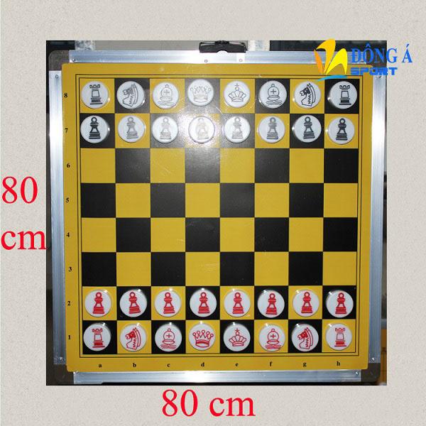 Bàn cờ vua treo tường giảng dạy