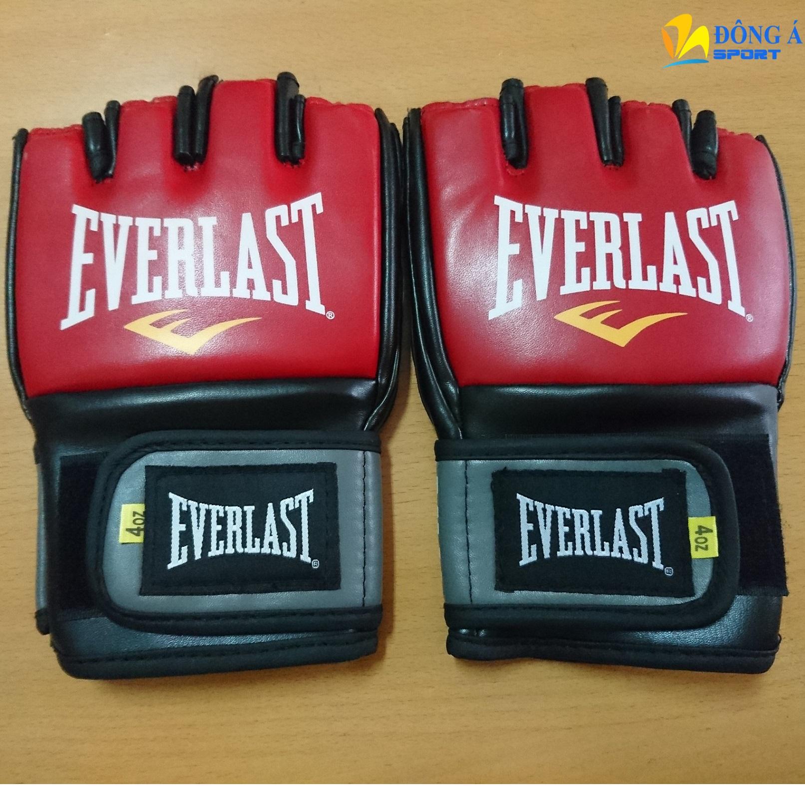 Găng tay tập võ Everlast MMA hở ngón