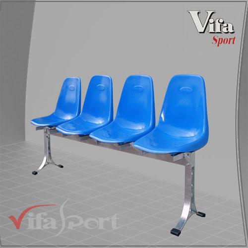 Băng 4 ghế composite lưng cao Vifa 401692