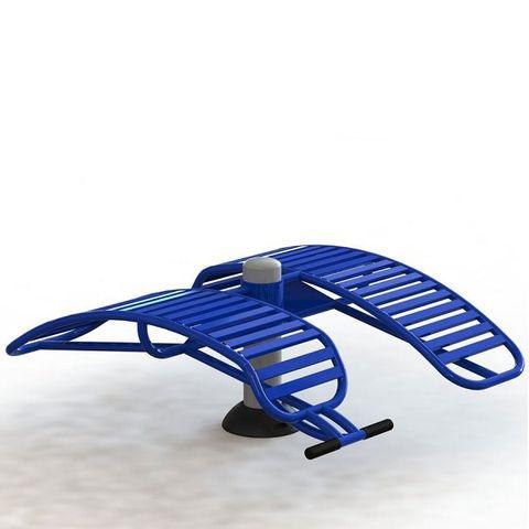 Ghế tập lưng bụng đôi Vifa Sport VF-711312