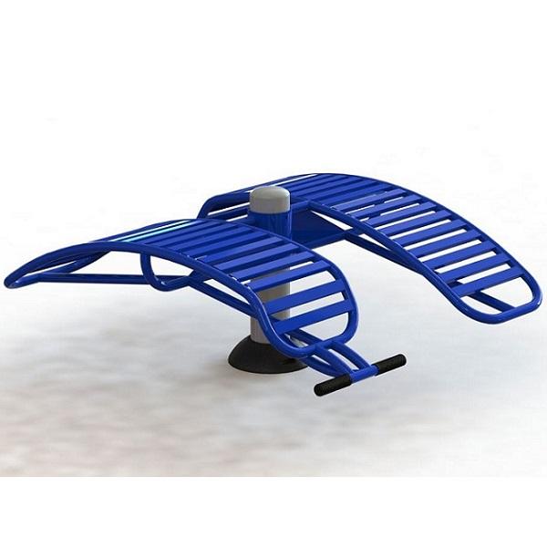 Ghế tập lưng bụng đôi NT-619